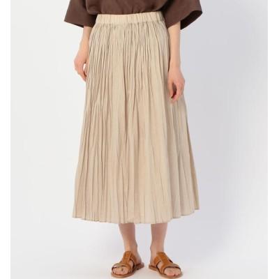 【ビショップ/Bshop】 【MORRIS & SONS】ランダムプリーツスカート PRM WOMEN