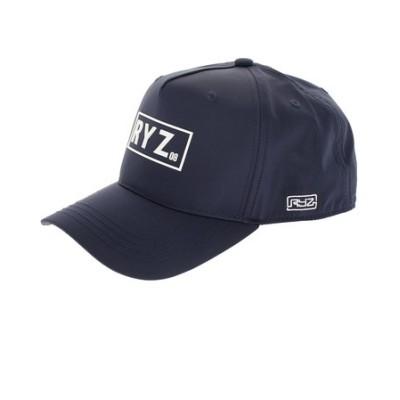 ライズ(RYZ)PVC LOGO キャップ 897R0ST6161 NVY