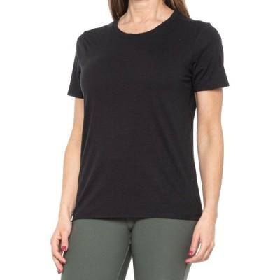キョーダン Freedom Trail by Kyodan レディース Tシャツ トップス Outdoor Crew Neck T-Shirt - Short Sleeve Black