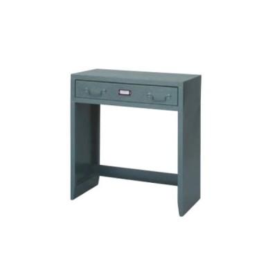 デスク スチール 作業机 平机 つくえ 引き出し付 ワークテーブル PCテーブル シンプル おしゃれ ミリタリー ラルド TPN-32