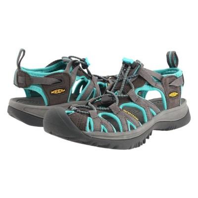キーン KEEN レディース サンダル・ミュール シューズ・靴 Whisper Dark Shadow/Ceramic Gray