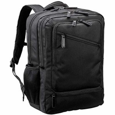 ビジネスリュック ビジネスバッグ メンズ B4 A4 PC対応 キャリーオン 横幅30cm 大容量 軽量 多機能 通勤 出張 黒