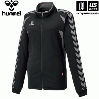 ヒュンメル HLT2066 レディースウォームアップジャケット (9099)ブラック×ガンメタル 2021年春夏継続モデル [取り寄せ][自社](メール便不可)