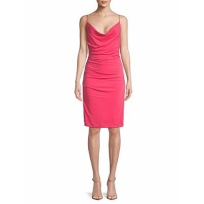 ニコールミラー レディース ワンピース Carly Cowlneck Dress