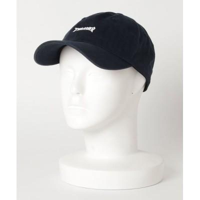 THRASHER by RIFFLEPAGE / MAG LOGO COTTON DAD CAP/スラッシャー ロゴ キャップ 帽子 ユニセックス MEN 帽子 > キャップ