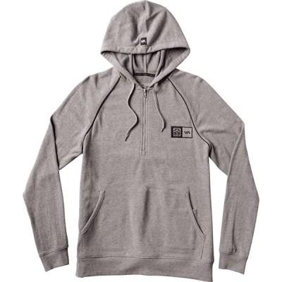 RVCA Bj Hood Sweatshirt Grey Noise S パーカー 送料無料