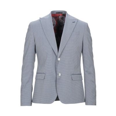 アレッサンドロデラクア ALESSANDRO DELL'ACQUA テーラードジャケット ブルー 54 コットン 60% / ポリエステル 37%