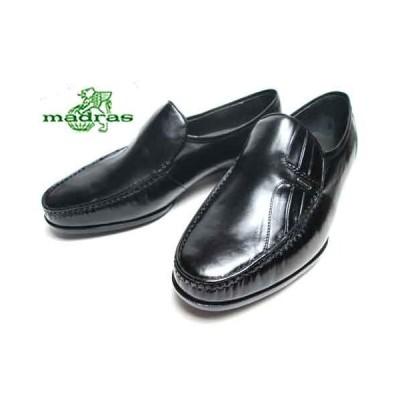 マドラス madras  クラシックタイプ ビジネスシューズ ブラック メンズ 靴
