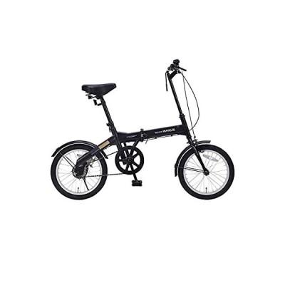 My Pallas(マイパラス) 折畳自転車16インチ ブラック M-100