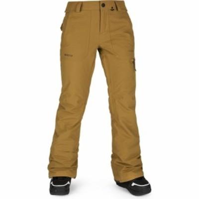 ボルコム Volcom レディース スキー・スノーボード ボトムス・パンツ knox insulated gore-tex snowboard pants Burnt Khaki