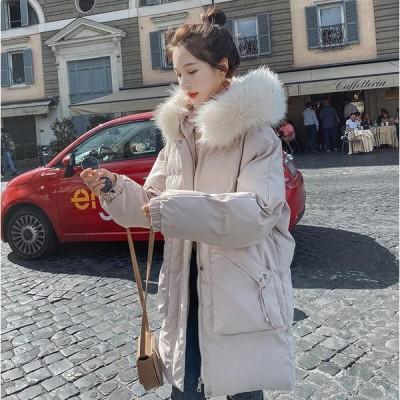 中綿 ロング丈 アウター 防寒 軽量 防風 キレイめ 暖かい カジュアル ファッション フォーマル 通勤 OL オフィス ダウンコート ダウンジャケット 女性