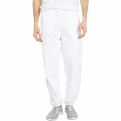 アディダス adidas Originals メンズ スウェット・ジャージ ボトムス・パンツ Tironti Track Pants Ltd White/Energy Aqua