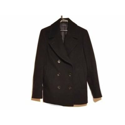 スピック&スパン Spick&Span Pコート サイズ40 M レディース - 黒 長袖/冬【中古】20200410