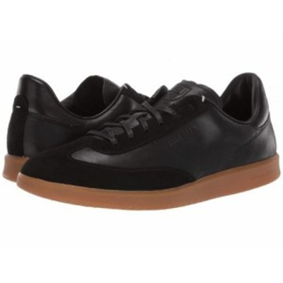 Cole Haan コールハーン メンズ 男性用 シューズ 靴 スニーカー 運動靴 Grandpro Turf Sneaker Black Tumbled/Black Suede【送料無料】
