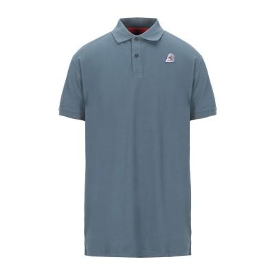 インヴィクタ INVICTA ポロシャツ ブルーグレー S コットン 92% / ポリウレタン 8% ポロシャツ
