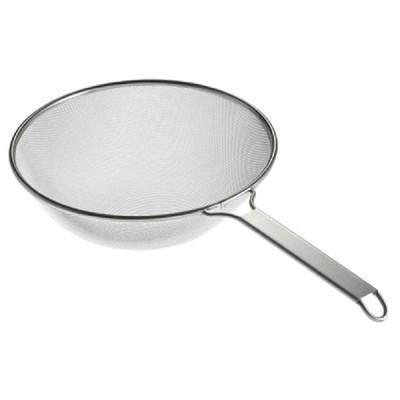 調理小物 厨房用品 / TS 18-8楽らくそばすくい網 35cm 寸法: Φ350 x 深さ:120 x 柄長:260mm