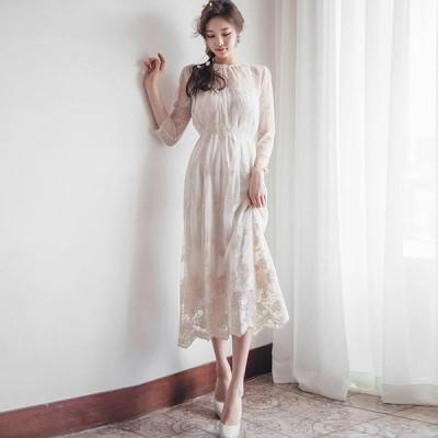 パーティードレス 結婚式 お呼ばれドレス 20代 30代 40代 袖あり 結婚式 ワンピース ミモレ丈ワンピース パーティードレス 膝丈 結婚式 お呼ばれドレス