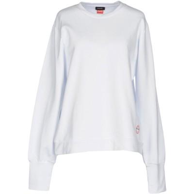 ピンコ PINKO スウェットシャツ ホワイト S 100% コットン スウェットシャツ