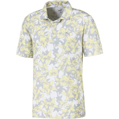 プーマ ポロシャツ トップス メンズ PUMA Men's TournAMENt Twelve Golf Polo YellowIris