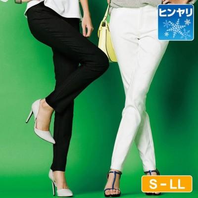 Ranan 【S~LL】冷感ストレッチフルレングスパンツ  L レディース