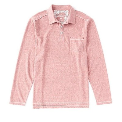 トッミーバハマ メンズ シャツ トップス Bodega Cove Polo Long-Sleeve Polo Shirt
