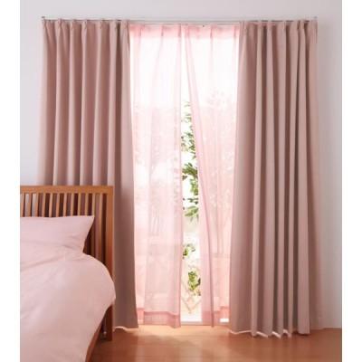 6色×54サイズから選べる 防炎ミラーレースカーテン 〔Mira〕ミラ 幅100cm×丈208cm 2枚組 ホワイト