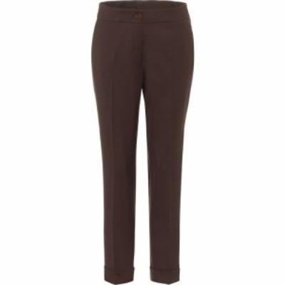 エトロ Etro レディース ボトムス・パンツ high-rise stretch-wool pants