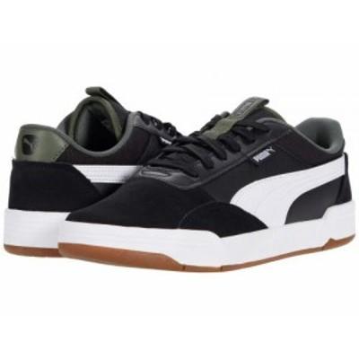 PUMA プーマ メンズ 男性用 シューズ 靴 スニーカー 運動靴 C-Skate Puma Black/Puma White【送料無料】