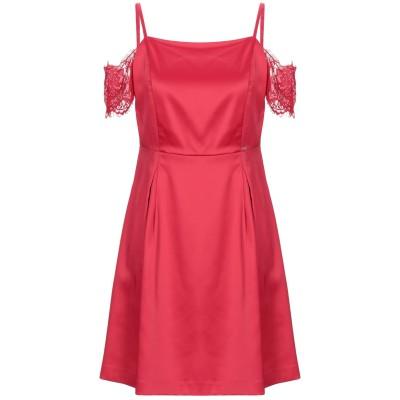 ガウディ GAUDÌ ミニワンピース&ドレス レッド 40 ポリエステル 98% / ポリウレタン 2% ミニワンピース&ドレス