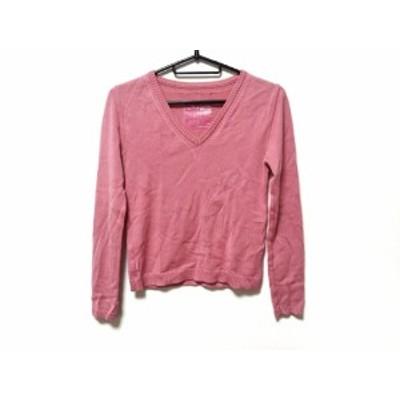 アンダーカバー UNDER COVER 長袖セーター サイズS レディース ピンク【還元祭対象】【中古】20200911