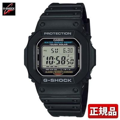 カシオ Gショック ジーショック CASIO G-SHOCK メンズ G-5600UE-1JF ソーラー タフソーラー カレンダー ウレタン デジタル 黒 ブラック 国内正規品