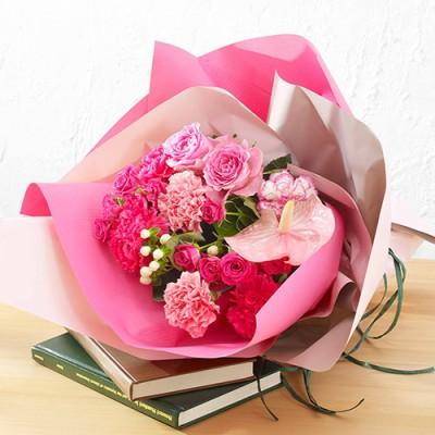 母の日 花束「アスピラシオン」 花束・ボックスフラワー
