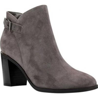 バンドリーノ Bandolino レディース ブーツ シューズ・靴 Orelia Block Heel Bootie Dark Grey Suede