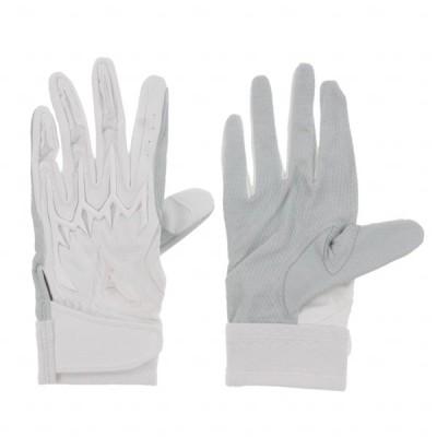 ミズノ 野球 バッティング用手袋 左手用 MPPALI HS 20SS 1EJEH20010 : ホワイト MIZUNO