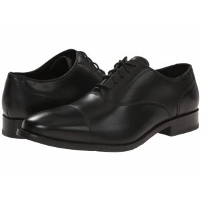 Cole Haan コールハーン メンズ 男性用 シューズ 靴 オックスフォード 紳士靴 通勤靴 Williams Cap Toe II Black【送料無料】