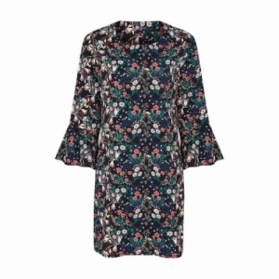 ユミ Yumi レディース ワンピース ワンピース・ドレス Dainty Floral Dress Black