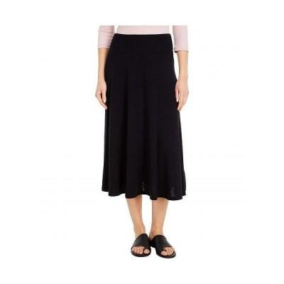 Michael Stars ミッシェルスターズ レディース 女性用 ファッション スカート Tahoe Jersey Maude Flared Skirt - Black