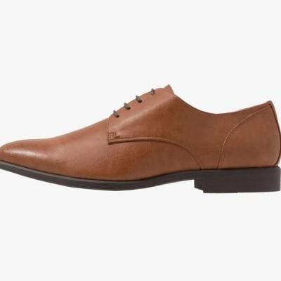 ピアワン メンズ 靴 シューズ Smart lace-ups - cognac