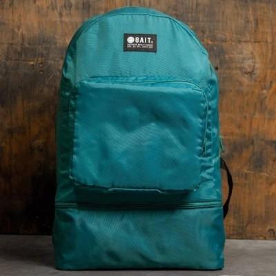 ユニセックス 鞄 リュック BAIT Lightweight Packable And Detachable Sneaker Nylon Backpack (teal / turqoise)