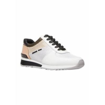 マイケルコース レディース スニーカー シューズ  Women's Allie Wrap Trainer Sneakers OPWHT MULT