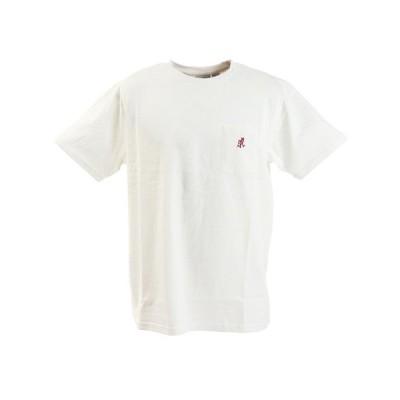 グラミチ(Gramicci) ONE POINT Tシャツ 1948-STS-WHITE (メンズ)
