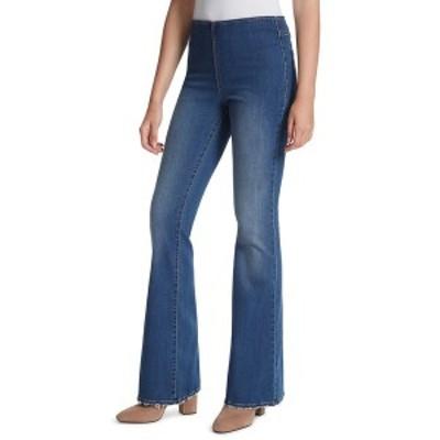 ジェシカシンプソン レディース デニムパンツ ボトムス Hi Rise Pull-On Flared-Leg Jeans Jayda