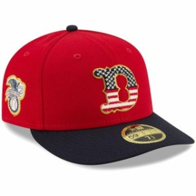 New Era ニュー エラ スポーツ用品  New Era Detroit Tigers Red/Navy 2019 Stars & Stripes 4th of July On-Field Low Profile 59FIFTY