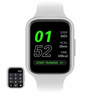 GARINEMAX Smart Watch with Call ReceiveMake Calls Fitness Tracker with Heart Rate Blood Pressure Monitor for Men Women Sm