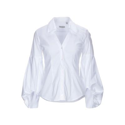 CAMICETTASNOB シャツ ホワイト 40 コットン 75% / ナイロン 23% / ポリウレタン 2% シャツ