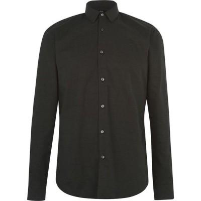 ヒューゴ ボス Boss メンズ シャツ トップス Eliott Polka Dot Shirt Black
