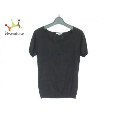 トゥービーシック TO BE CHIC 半袖セーター サイズ2 M レディース 黒 新着 20200726