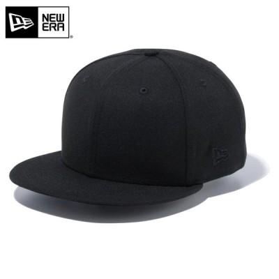 【メーカー取次】 NEW ERA ニューエラ 9FIFTY ベーシック ブラックXブラックロゴ 12492828 キャップ メンズ 帽子 ブランド【クーポン対象外】【T】
