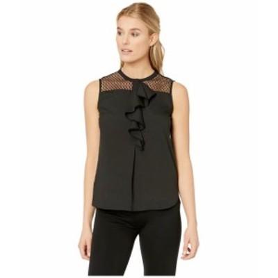 Calvin Klein カルバンクライン 服 一般 Sleeveless Lace/Ruffle Top