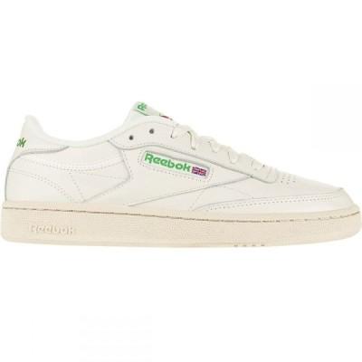 リーボック Reebok レディース スニーカー シューズ・靴 Club C 85 Sneaker Chalk/Glen Green/Paperwhite
